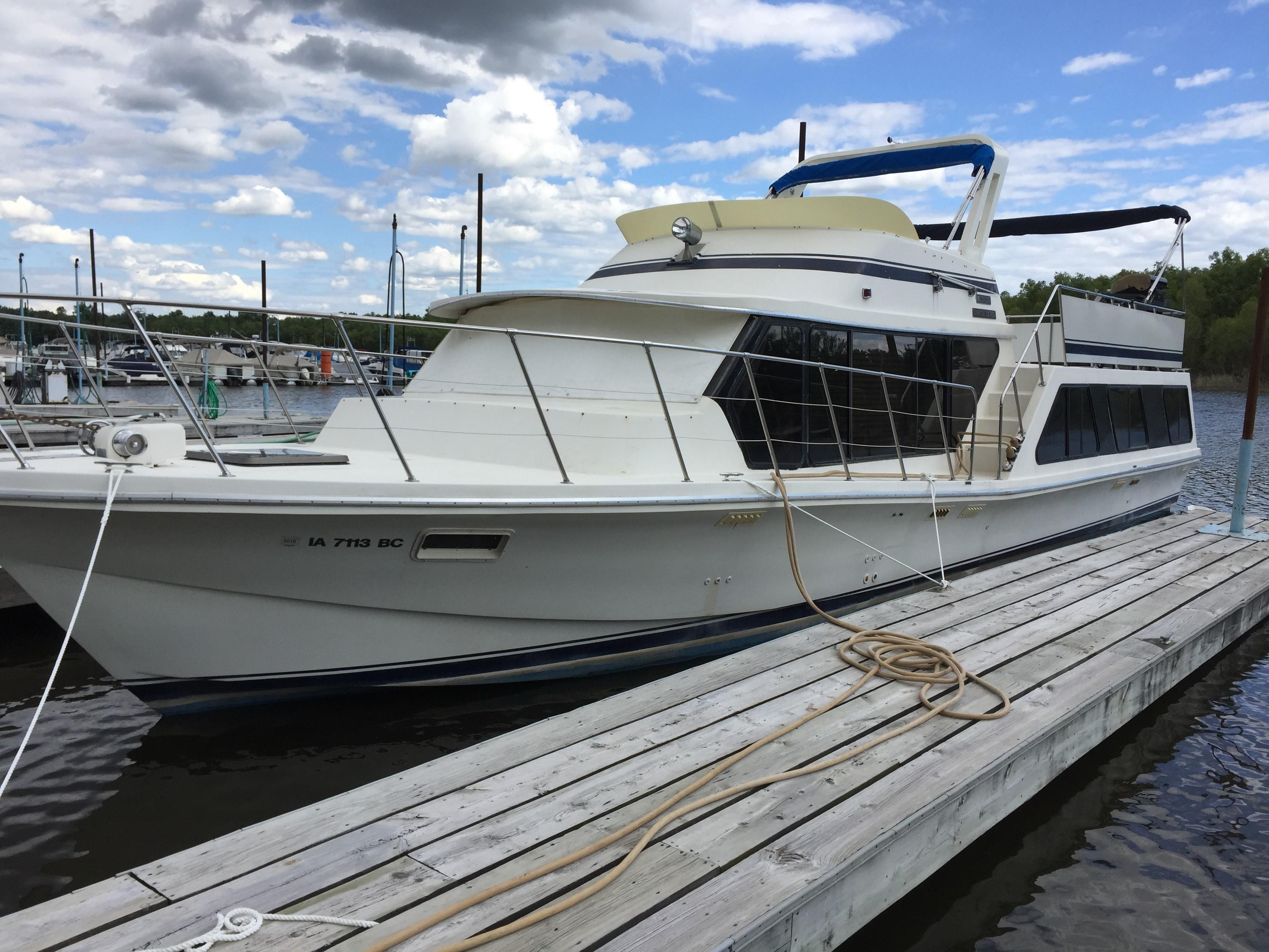 1985 Bluewater 510 Coastal Cruiser Power Boat For Sale