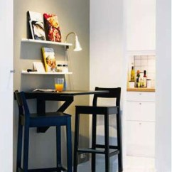 Kitchen Island Stool Pantry Drawer Systems 五款小户型隐形餐桌装修效果图