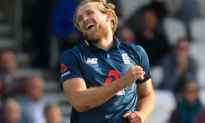 David Willey Relishing England Second Chance