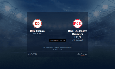 Delhi Capitals vs Royal Challengers Bangalore live score over Match 55 T20 16 20 updates | Cricket News