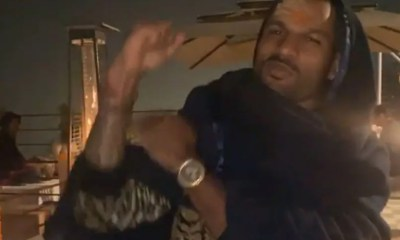 Shikhar Dhawan Grooves To Bollywood Song After Indias Test Series Win In Australia. Watch