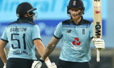 India vs England 2nd ODI: Ben Stokes Carnage, Jonny Bairstow Century Inspire Englands Series-Levelling Win