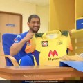 IPL 2021: MS Dhoni Unveils New Chennai Super Kings Jersey Ahead Of Season. Watch