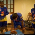 MS Dhoni And CSK Teammates Celebrate Coach Stephen Flemings Birthday. Watch