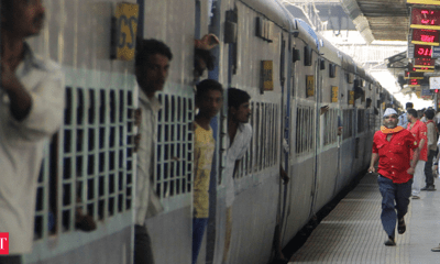 Increase in passenger rush for outstation trains from Mumbai