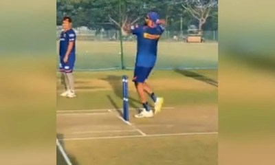 Watch: Rohit Sharma Bowls At Mumbai Indians Nets Ahead Of KKR Clash