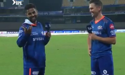 KKR vs MI, IPL 2021: Watch Suryakumar Yadavs Hindi Test For Trent Boult