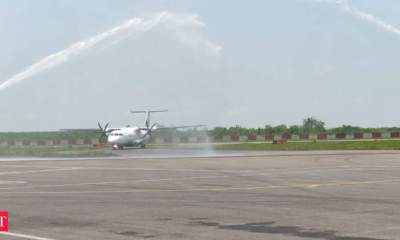 Airports Authority of India begins regular flight services at Rupsi Airport in Assam