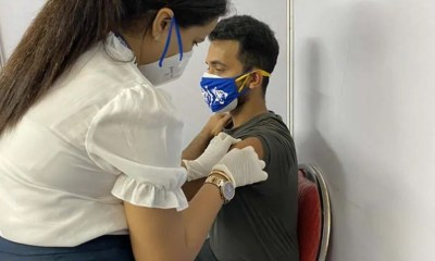 Ajinkya Rahane And Wife Radhika Get First Dose Of COVID-19 Vaccine