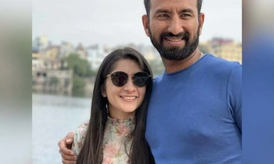 Cheteshwar Pujara And His Wife Puja Get First Dose Of COVID-19 Vaccine
