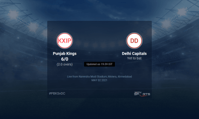 Punjab Kings vs Delhi Capitals live score over Match 29 T20 1 5 updates | Cricket News