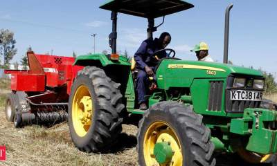 Tractor sales rally drops in April but experts hopeful of a bounce back