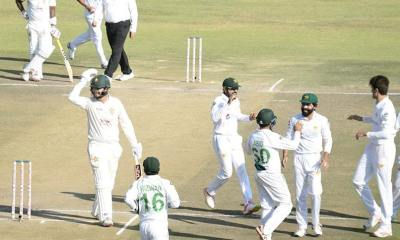 ZIM vs PAK: Pakistan On Verge Of Successive Innings Triumph Over Zimbabwe