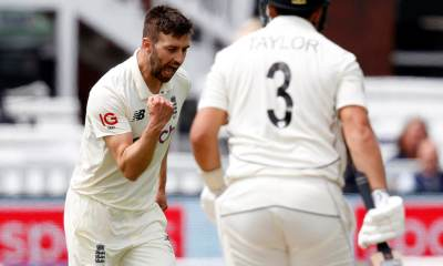 Eng vs NZ: England Fined For Slow Over-Rate In First Test At Lord's | Cricket News