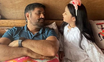 MS Dhoni Spends Quality Time With Daughter Ziva In The Hills. Here Are The Adorable Vacation Photos
