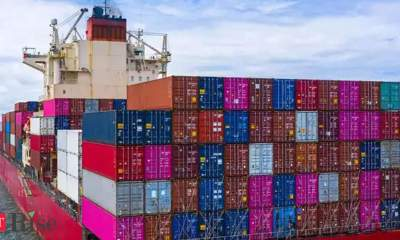 Container shipping giant freezes spot rates amid trade chaos