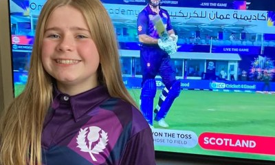 Cricket Scotland Thanks 12-Year-Old, Who Designed Teams T20 World Cup Jersey