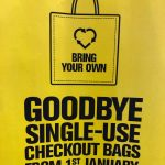 single use bag january 1st