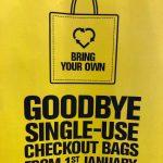 single use bag january 1st