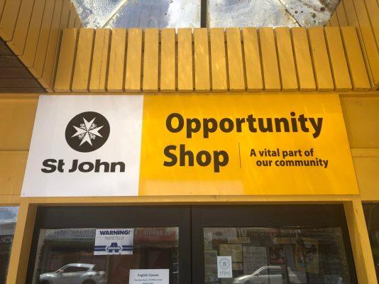 St Johns Op Shop