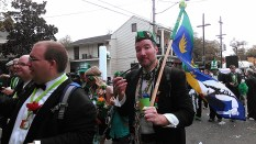 St. Patrick's Day parade in the Irish Channel (photo by Carlie Kollath Wells / New in NOLA)