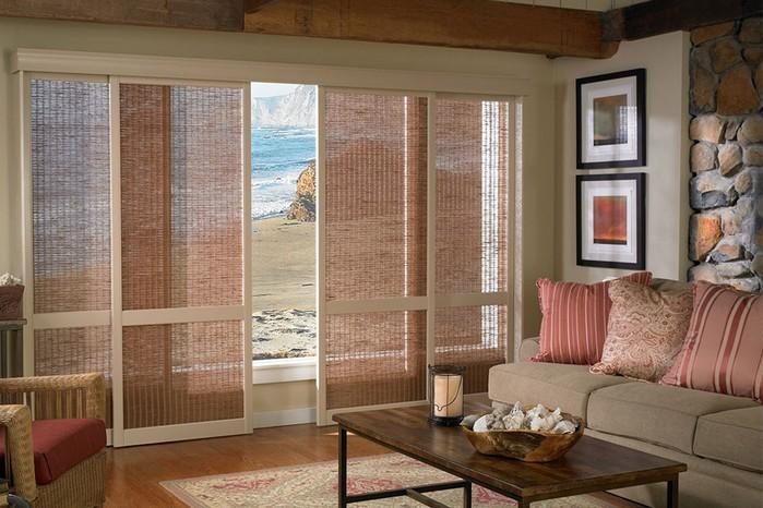 Rustic window treatments ideas