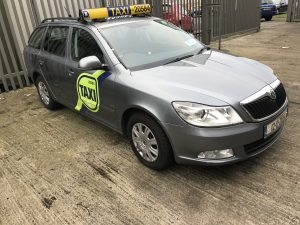 Taxi for rent from New Ireland Motors