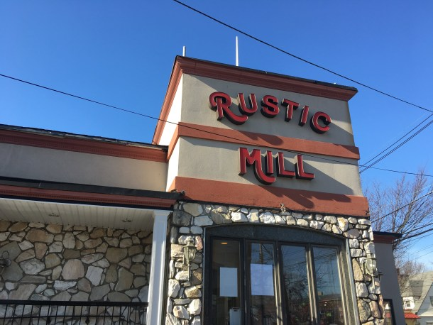rustic mill diner ext