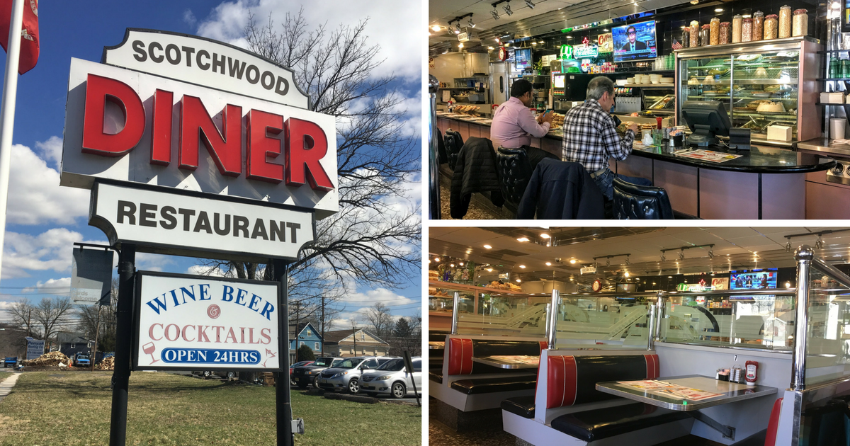 Scotchwood diner scotch plains new jersey