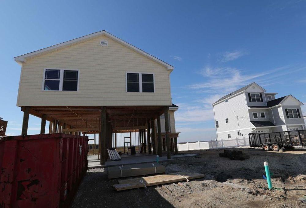 Rebuilding Shore homes after Sandy