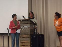 NJOP members speaking at community meeting