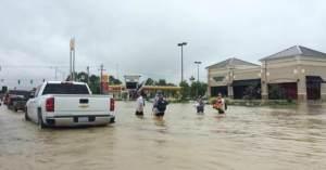 flooded community