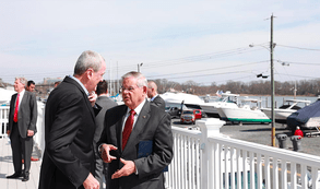 Governor Murphy and Menendez