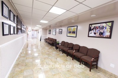 World Mission Society Church of God in Ridgewood, New Jersey Hallway