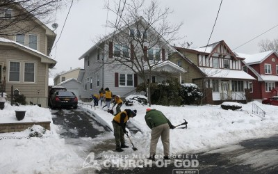Neighborhood Snow Cleanup