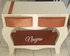 meuble en carton-baroque -Newjess