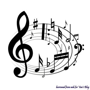Music Notes in Circle