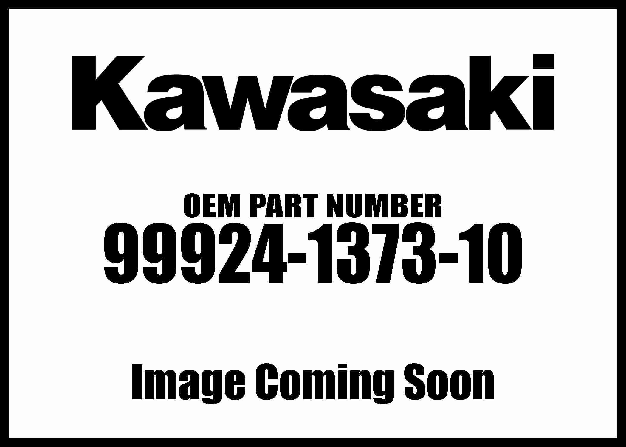 Kawasaki 2007-2016 Vulcan S/M Vn900c 99924-1373-10 New OEM