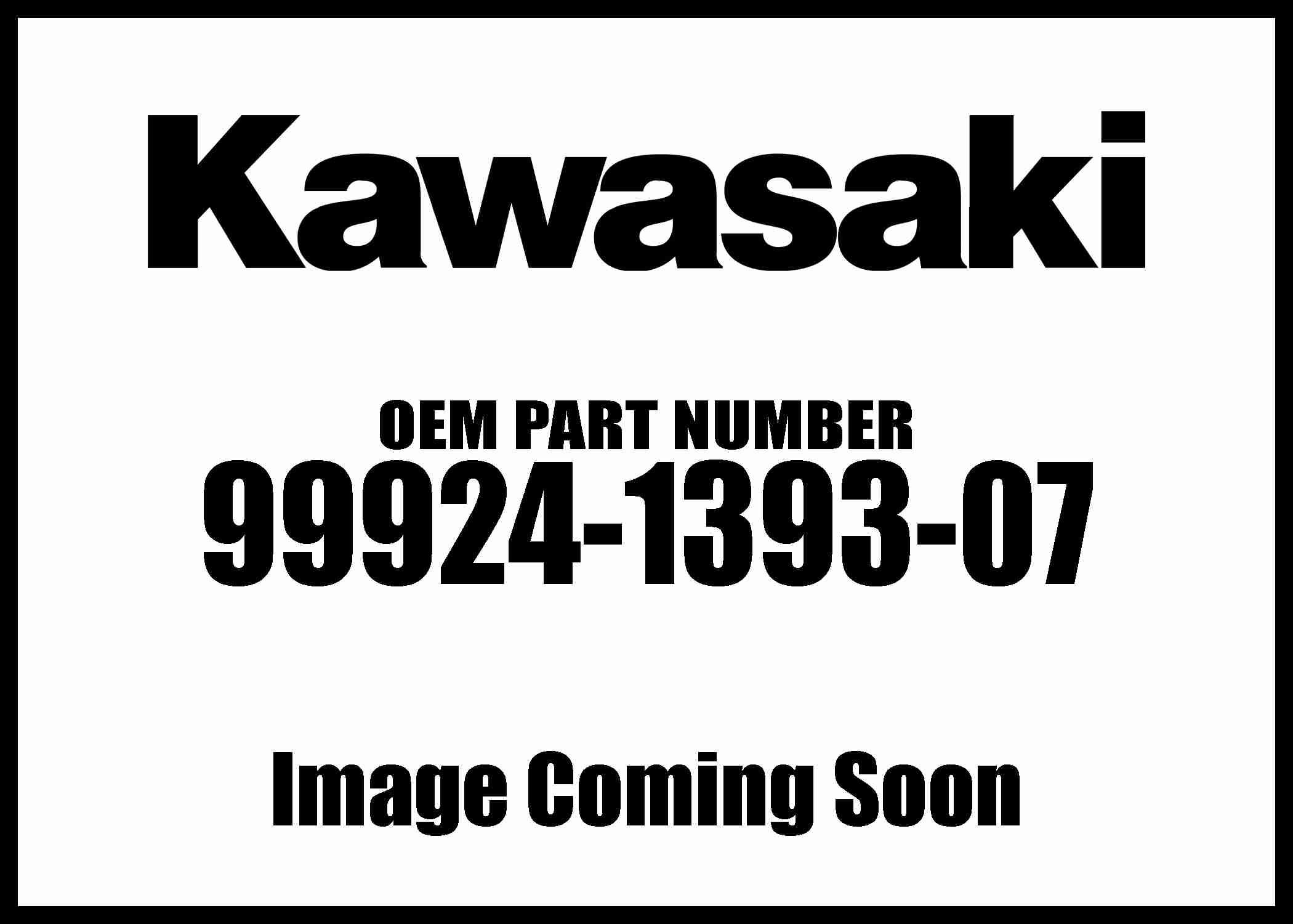 Kawasaki 2009-2013 Klx250s Klx250sf S/M Klx250t 99924-1393