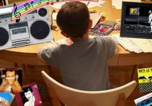"""Auf ihrem Blog """"Drawn To The 80s"""" zeigt Mutter Lori die von Popmusik inspirierten Bilder ihres Sohnes Sam. (Screenshot)"""