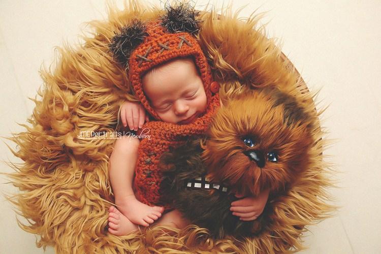 Baby-Kostüm-Chewbacca