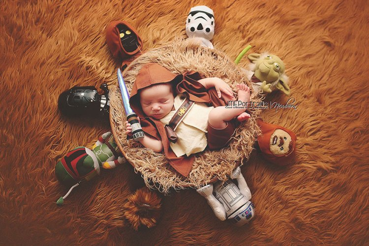 Baby-Kostüm-Luke-Skywalker