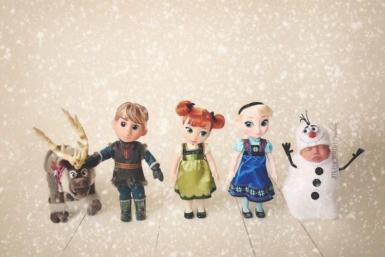 Baby-Kostüm-Olaf