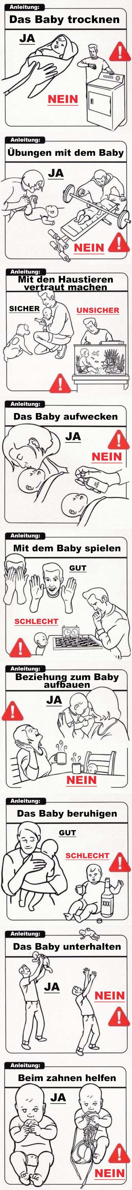 Baby-Anleitung