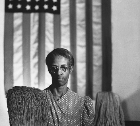 American Gothic by Gordon Parks