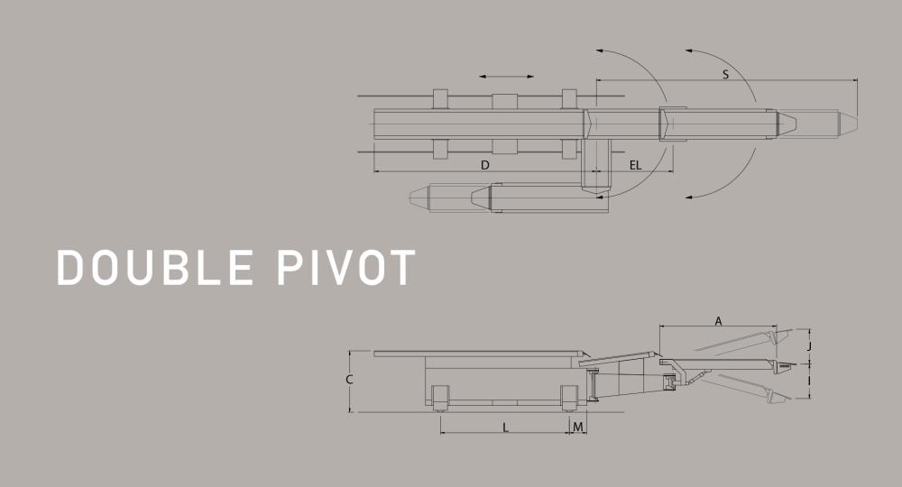 medium resolution of double pivoting railcar loader diagram