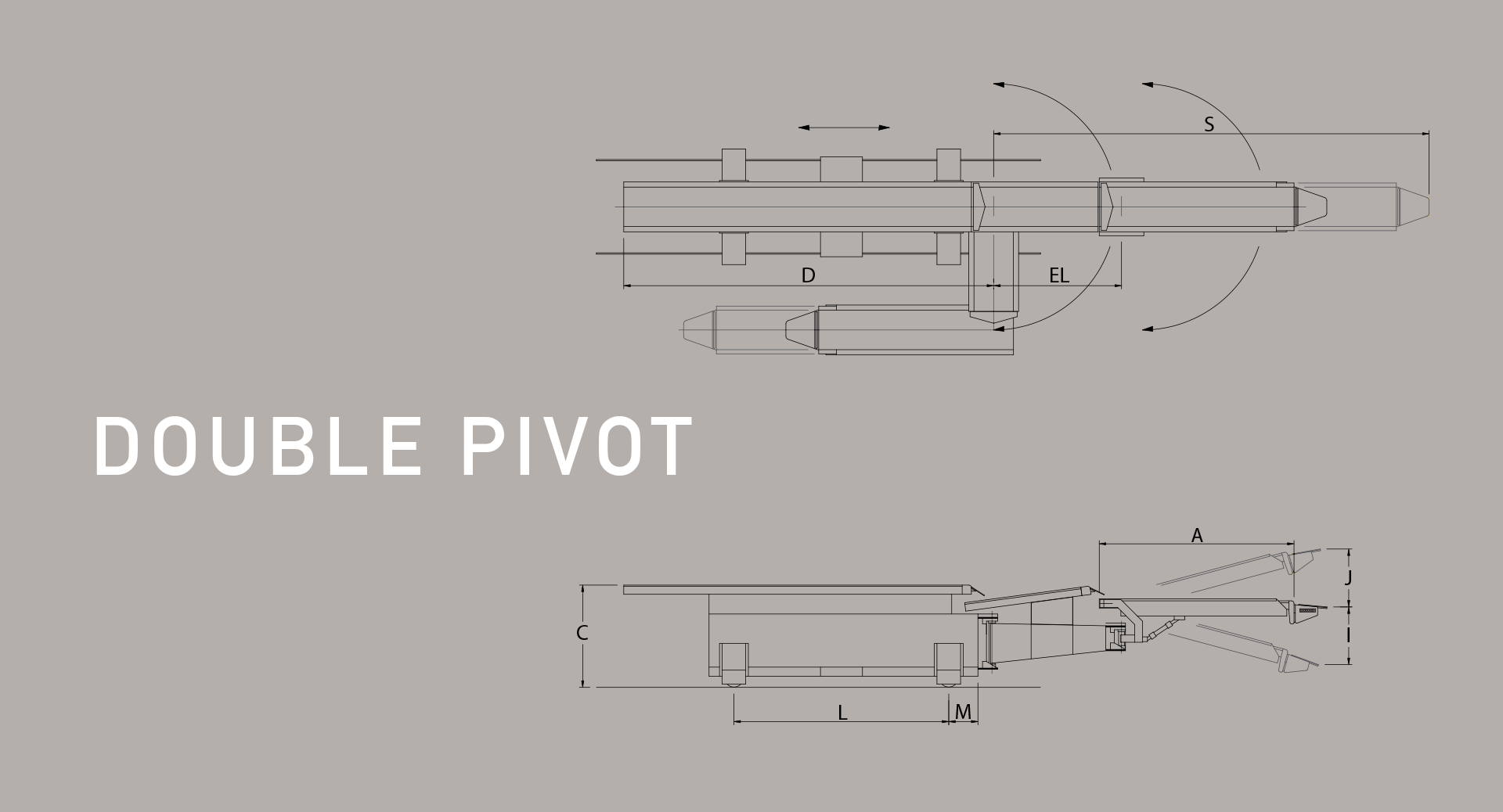 hight resolution of double pivoting railcar loader diagram