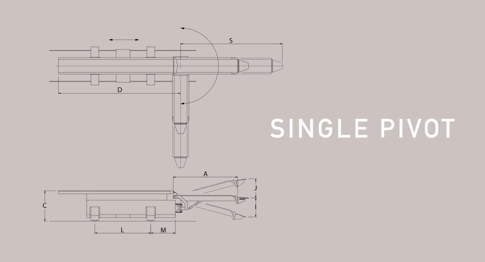medium resolution of single pivoting railcar loader diagram