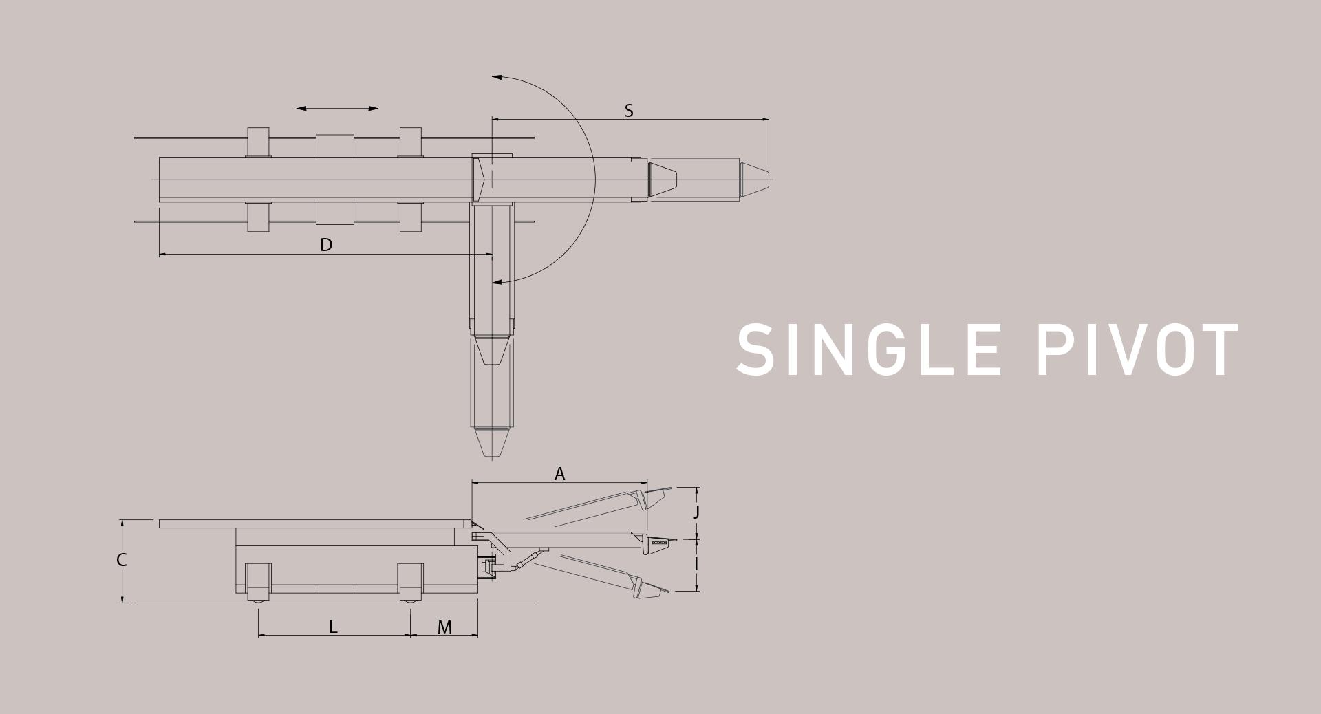 hight resolution of single pivoting railcar loader diagram