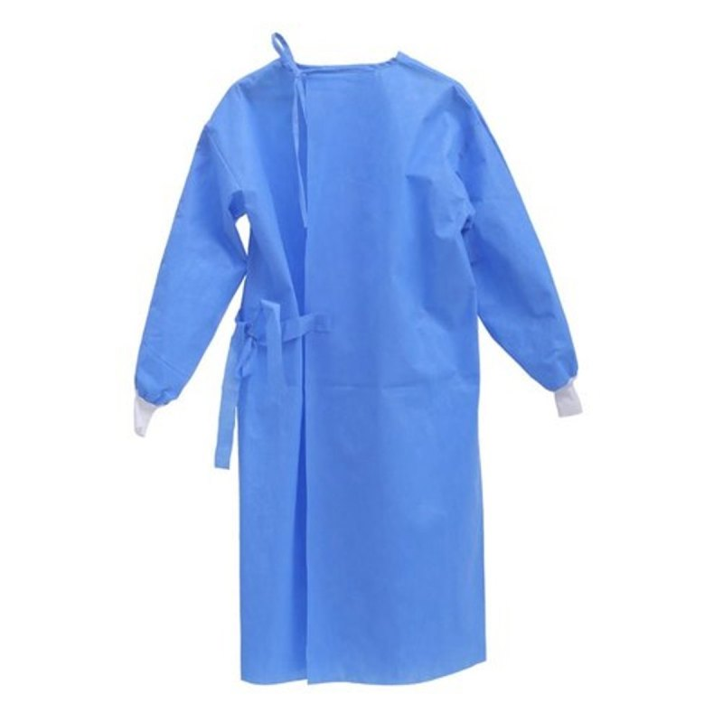 Disposable Medical Isolation Gown Blue